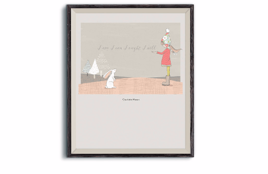 Charlotte Mason Quote Print from Wanted Words on Etsy