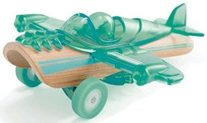 Hape bamboo toy plane